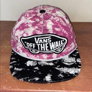 Vans Off the Wall Tie Dye Hat